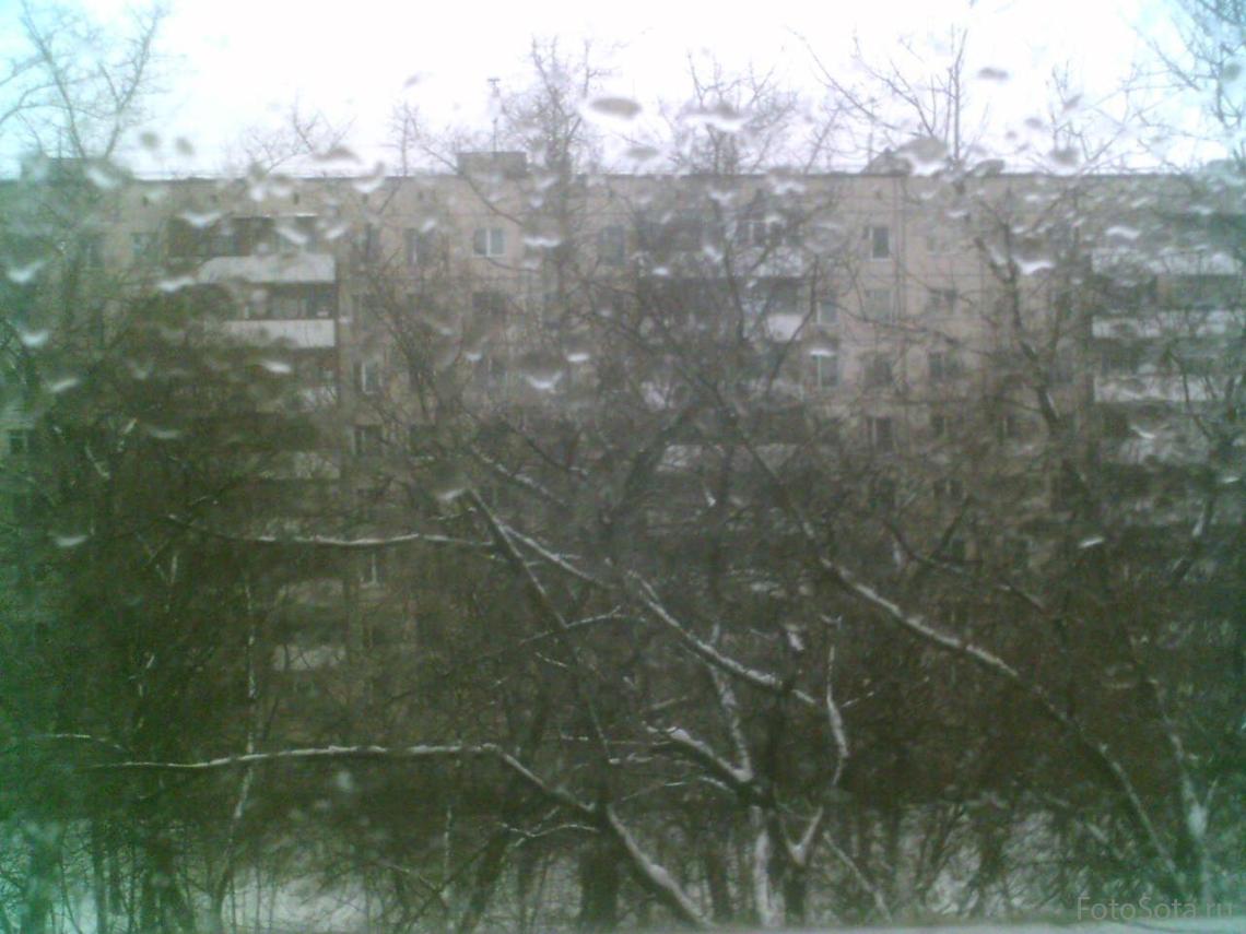 За окном дождь...