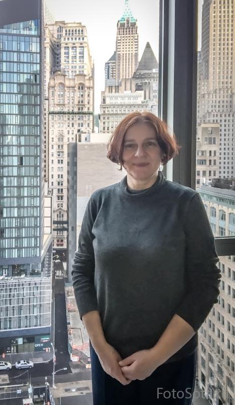 За окном Манхэттен