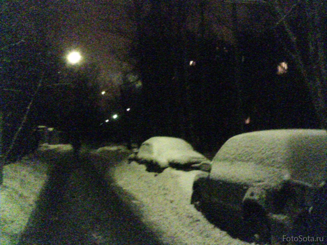 На нашей улице зима.